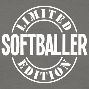 softballer limited edition stamp - Men's T-Shirt