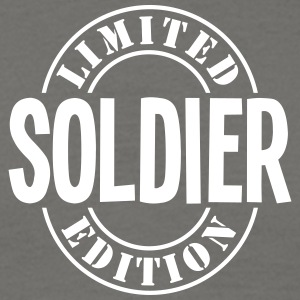 soldier limited edition stamp - Men's T-Shirt