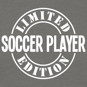 soccer player limited edition stamp - Men's T-Shirt