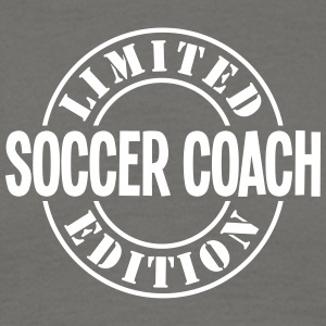 soccer coach limited edition stamp - Men's T-Shirt