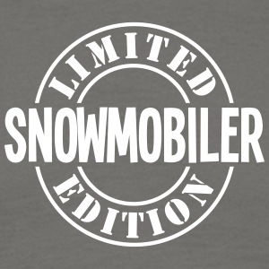 snowmobiler limited edition stamp - Men's T-Shirt