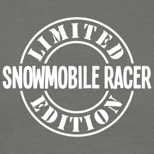 snowmobile racer limited edition stamp c - Men's T-Shirt