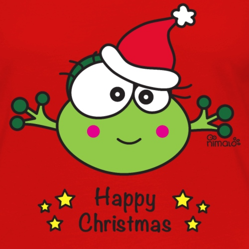 Grenouille F, Fêtes, Noël, Happy Christmas