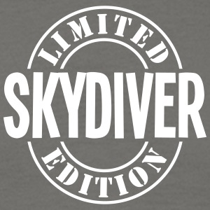 skydiver limited edition stamp - Men's T-Shirt