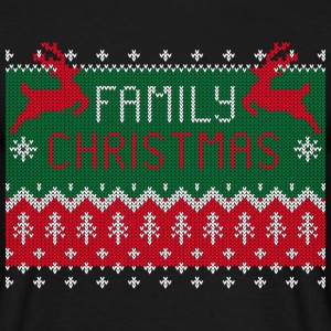 Family Christmas - Ugly Sweater T-Shirts - Men's T-Shirt