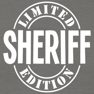 sheriff limited edition stamp - Men's T-Shirt