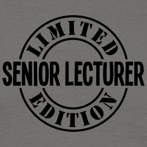 senior lecturer limited edition stamp co - Men's T-Shirt