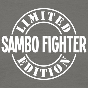 sambo fighter limited edition stamp - Men's T-Shirt
