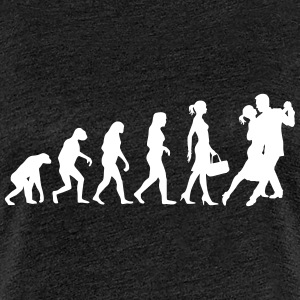 Evolution of Ladies Tango - Frauen Premium T-Shirt