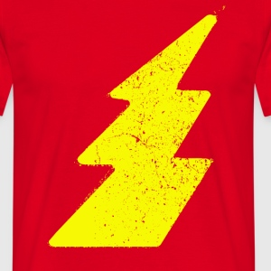 Vintage Lightning Flash - Men's T-Shirt