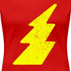 Vintage Lightning Flash - Women's Premium T-Shirt