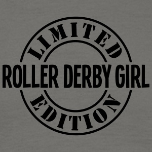 roller derby girl limited edition stamp  - Men's T-Shirt