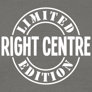 right centre limited edition stamp - Men's T-Shirt