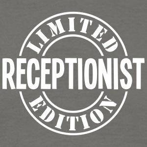receptionist limited edition stamp - Men's T-Shirt
