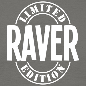 raver limited edition stamp - Men's T-Shirt