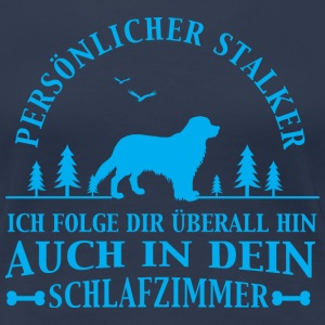 Stalker Golden Retriever T-Shirts - Frauen Premium T-Shirt