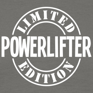 powerlifter limited edition stamp - Men's T-Shirt