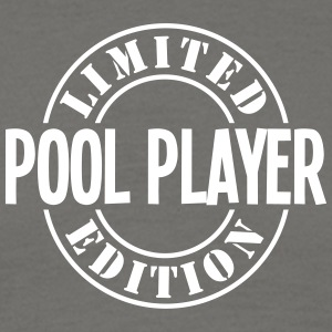 pool player limited edition stamp - Men's T-Shirt