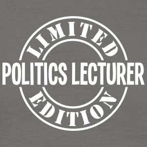 politics lecturer limited edition stamp  - Men's T-Shirt