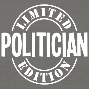 politician limited edition stamp - Men's T-Shirt