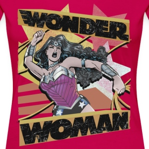 DC Comics  Collage Golden Lasso - Vrouwen Premium T-shirt