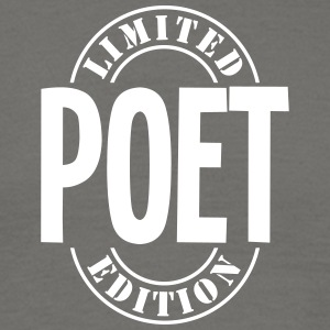 poet limited edition stamp - Men's T-Shirt