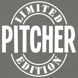 pitcher limited edition stamp - Men's T-Shirt