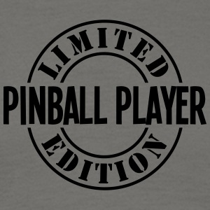 pinball player limited edition stamp cop - Men's T-Shirt