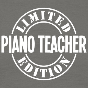 piano teacher limited edition stamp - Men's T-Shirt