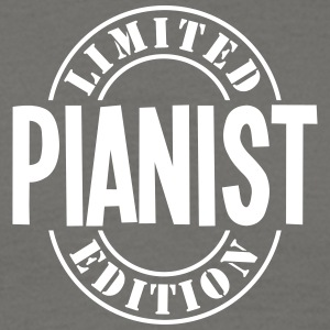 pianist limited edition stamp - Men's T-Shirt