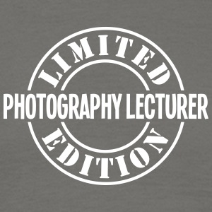 photography lecturer limited edition sta - Men's T-Shirt