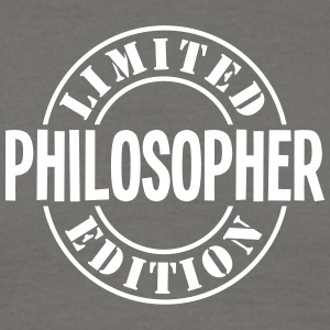 philosopher limited edition stamp - Men's T-Shirt