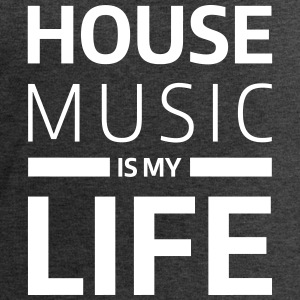 house music is my life techno Club DJ Musik Bluzy - Bluza męska Stanley & Stella