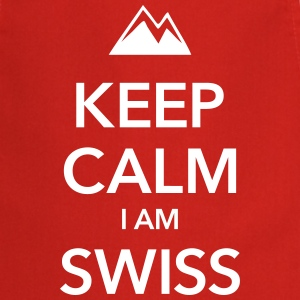 KEEP CALIM I AM SWISS - Cooking Apron