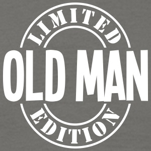 old man limited edition stamp - Men's T-Shirt