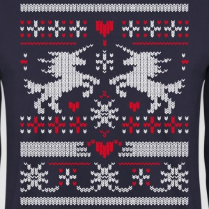 Unicorn Ugly Christmas Pullover & Hoodies - Männer Pullover