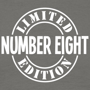 number eight limited edition stamp - Men's T-Shirt