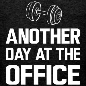 Another day at the office Sports wear - Men's Premium Tank Top