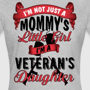 Veteran's daughter - I'm not just a mommy's girl T-Shirts - Women's T-Shirt