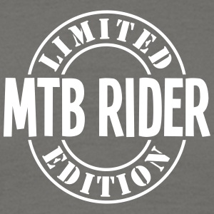 mtb rider limited edition stamp - Men's T-Shirt