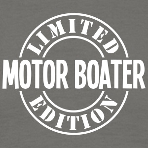 motor boater limited edition stamp - Men's T-Shirt