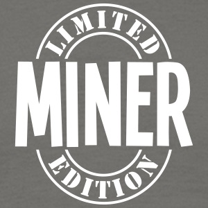 miner limited edition stamp - Men's T-Shirt