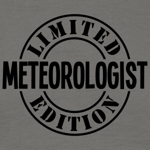 meteorologist limited edition stamp - Men's T-Shirt