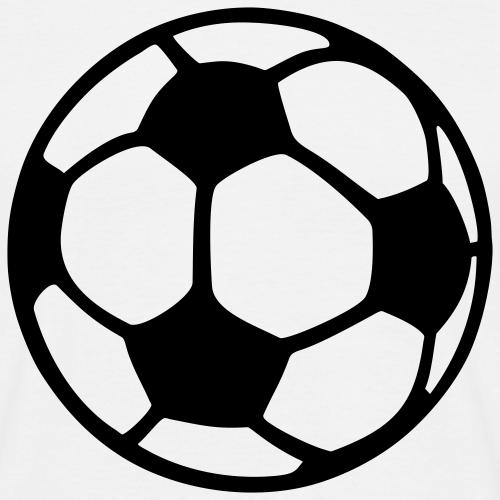 Fußball einfarbig