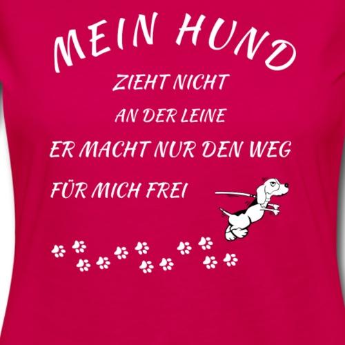 hund zieht nicht lustiges HundeT-Shirt Geschenk