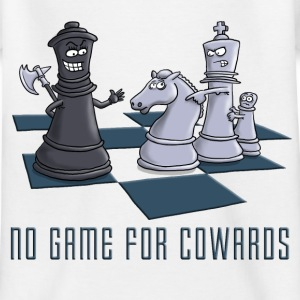 chess_no_game_for_cowards_11_2016 T-Shirts - Kinder T-Shirt