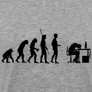 Evolution PC Kaputt T-shirts - Herre premium T-shirt