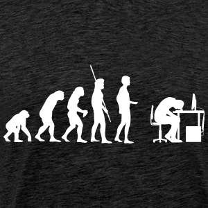 Evolution PC Kaputt T-shirts - Mannen Premium T-shirt