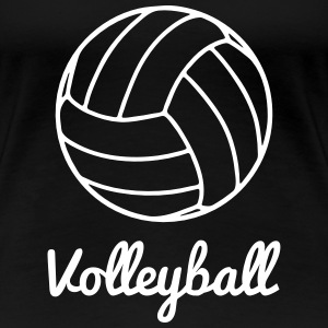 Volleyball Volley shirt - Women's Premium T-Shirt