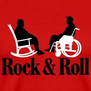 Rock n Roll 2clr New T-Shirts - Men's Premium T-Shirt